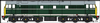 HELJAN 3106 Class 31 in BR green with full yellow ends - unnumbered *PRE ORDER £466.65 *